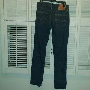 Levi's skinny blue jeans Size 30x32